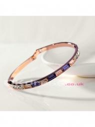 Bright Swarovski Crystal Bracelets - by okdress uk