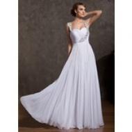 Forme Princesse Bustier en coeur Mi-longues Organza Pailleté Robe de soirée étudiante (022020680) - AmorModa