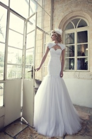 Sleeveless Sweetheart Court Train Tulle Trumpet Mermaid Wedding Dress With Appliques