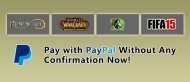 buy wow gold without personal info provided pay by paypal at Gold4fans. Best place to buy wow gold fast and cheap - http://www.gold4fans.com/ 