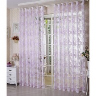 New Design Country Living Room Sheer Curtains