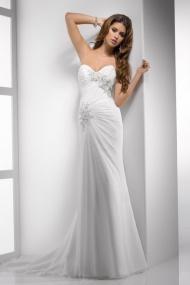 Astounding Chiffon Sweetheart Beading Bridal Casual Beach Wedding Dresses UK