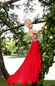 "Dress length: 45"" (Waist to hem)