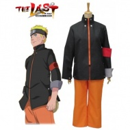 Naruto movie The last-Uzumaki Naruto Cosplay Costume