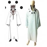 Naruto Otsutsuki Hagoromo Overcoat Cosplay Costume