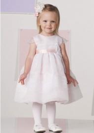 Knee-length Little Flower Girl Dresses