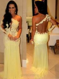 uk millybridal Long Prom Dresses