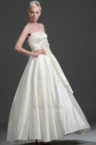 Vestidos de novia Corte princesa Sin mangas Cordón Perlas Blanco