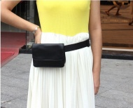 Outdoor Casual Brief PU Material Waist Bags for Women Fashion