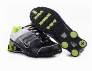 Mens 2015 Black White Green Nike Shox NZ Shoes $59.67 At shoxclearance.com