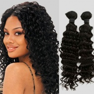 Get curvy with 100% pure and natural virgin Indian hair,which is avoid shedding, tangle,without mixing any filler, no fizzy, no dry end with other hairs.