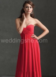 Elegant  Sweetheart Bridesmaid Dress$96.59