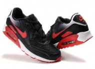 Air Max 90 Black Mens Shoes Wholesale On Sale Red