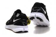 Womens Nike Free Run 2 Running Shoes Black Anthracite White 7088