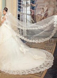 Fabulous  White Tulle Wedding Veil$72.99