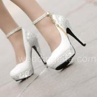 Chic High Heels PlatformWedding Shoes$47.99