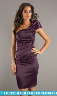 $148 Red Prom Dresses - One Shoulder Formal Dress by Atria at www.promdressbycolor.com