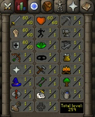 OSR-Account with 60 attack , 60 strength , 60 defense http://www.rsorder.com/old-school-rs-account