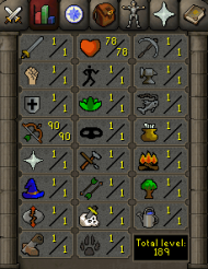 OSR-Account with 1 attack, 1 strength, 1 defense, 90 ranged http://www.rsorder.com/old-school-rs-account