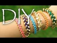 DIY Stackable ArmCandy Bracelet Tutorial (Friendship Bracelets)