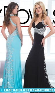 $201 Black Prom Dresses - Long Open Back Sweetheart Dress at www.promdressbycolor.com