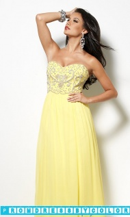 $149 Black Prom Dresses - Bead Strapless Gown by Sean Collection at www.promdressbycolor.com