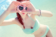 love, girl, beach, cute