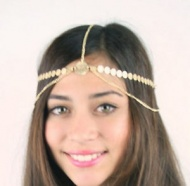 Boho Lady Bridal Tiara Wedding Prom Hair Head Chain Band Headpiece Dance Jewelry