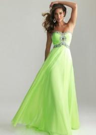 Long Lime Sequin Crisscross Keyhole Designer Dresses Onlinees 2015