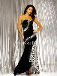 |Hourglass Zipper Motif|Beading Floor-Length Sweetheart|Strapless Satin Styles long prom dresses -wepromdresses.com