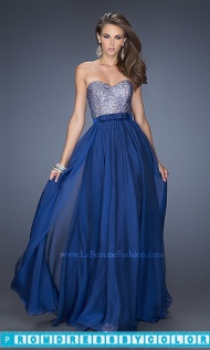 $173 Red Prom Dresses - Full Length Strapless Evening Gown at www.promdressbycolor.com
