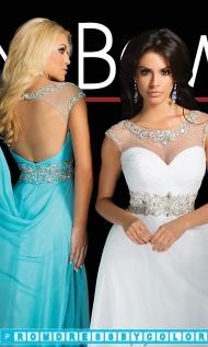 $144 Black Prom Dresses - Tony Bowls Floor Length Dress at www.promdressbycolor.com