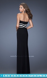 $173 Black Prom Dresses - Full Length Strapless Black Gown at www.promdressbycolor.com