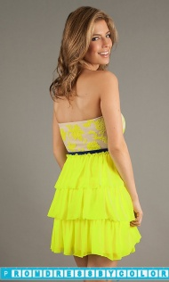 $149 Black Prom Dresses - Short Strapless Sweetheart Dress at www.promdressbycolor.com