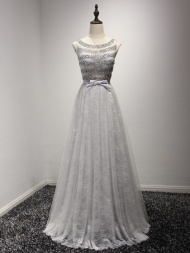 Silver Prom Dresses