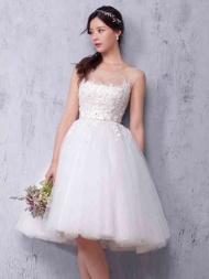 Knee-length Wedding Dresses