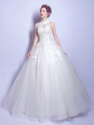 High-neck Wedding Dresses