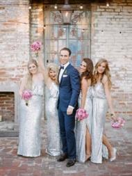 Spaghetti Straps Bridesmaid Dresses