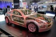 transparent car ..