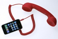 $18.35 - Native Union Moshi Moshi Retro Handset (Soft Touch Red) - OLD VERSION