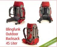 Platz für alle Weihnachtsgeschenke! Mit dem XL Blingfunk Outdoor Rucksack kann die nächste Hüttentour kommen. Bei YouDeal für 49,00 € statt 89,00 €