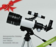 Mit YouDeal den Weihnachtssstern finden Astronomisches Teleskop damit holen Sie die Sterne vom Himmel! Zum Weihnachtsaktionspreis von 39,99 € statt 69,99 €