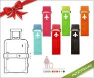 Sichern Sie Ihr Gepäck mit dem farbenfrohen Luggage Belt für 9,90€ statt 16,50€