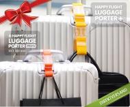 Der Luggage Porter ist der ideale Reisebegleiter und es gibt ihn in vielen bunten Farben für 7,95 € statt 11,95 €