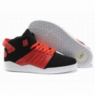 Men's Supra Skytop III Black Red skate shoes 26230