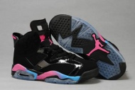 Nike Jordan Retro Shoes 6 Black/Sky Blue/Pink Colors 16235