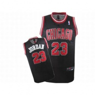 Chicago Jordan 23 Black Jersey Red White 25686