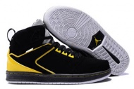 "AirJordan ""Sixty Club"" Suede Black-Yellow-White Nike Shoes 44798"
