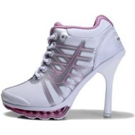 Nike Air Max High Heels Pink White