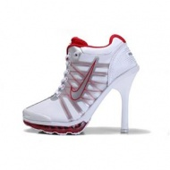 Nike Air Max High Heels Red White